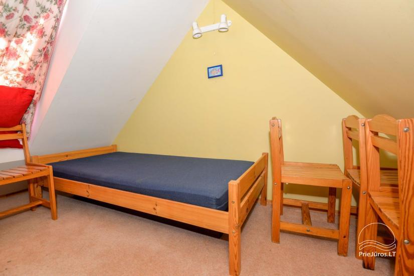 Dva pokojowe mieszkanie do wynajęcia w Nidzie, Mierzeja Kurońska, Litwa - 19
