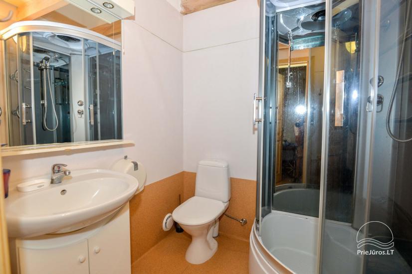 Dva pokojowe mieszkanie do wynajęcia w Nidzie, Mierzeja Kurońska, Litwa - 22