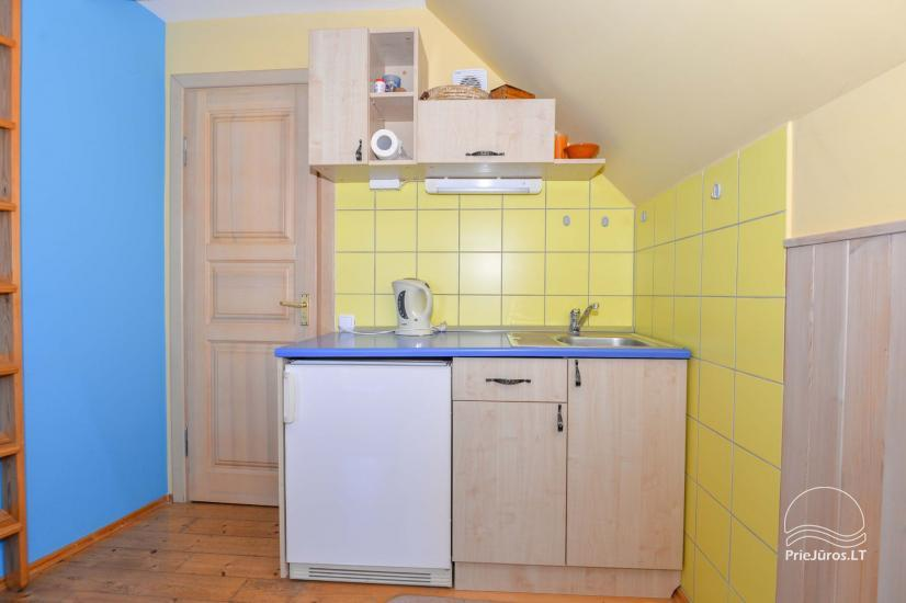 Dva pokojowe mieszkanie do wynajęcia w Nidzie, Mierzeja Kurońska, Litwa - 27