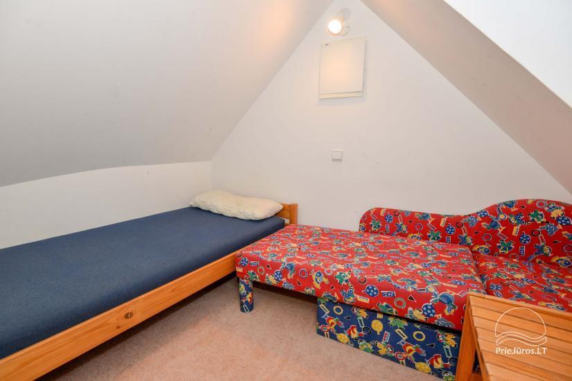 Dva pokojowe mieszkanie do wynajęcia w Nidzie, Mierzeja Kurońska, Litwa - 28