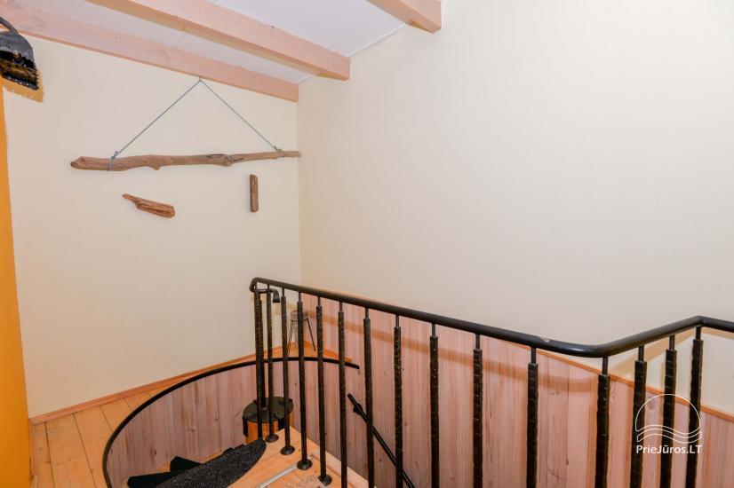 Dva pokojowe mieszkanie do wynajęcia w Nidzie, Mierzeja Kurońska, Litwa - 31