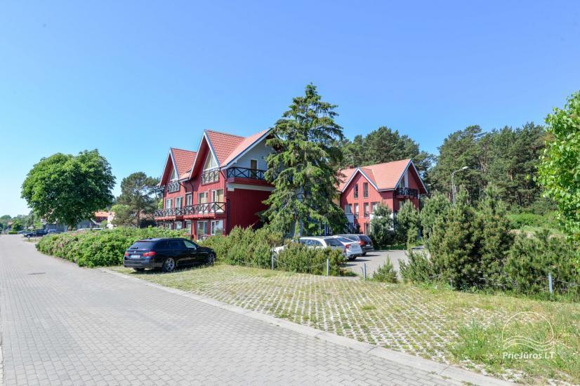 Dva pokojowe mieszkanie do wynajęcia w Nidzie, Mierzeja Kurońska, Litwa - 1