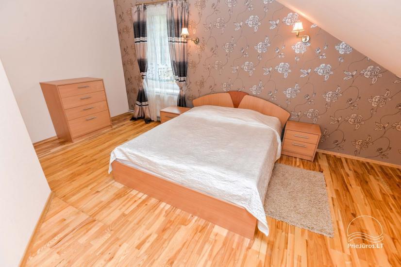Pokoje do wynajęcia w Kunigiskiai, Litwa. Zaledwie 100 metrów do morza! - 5