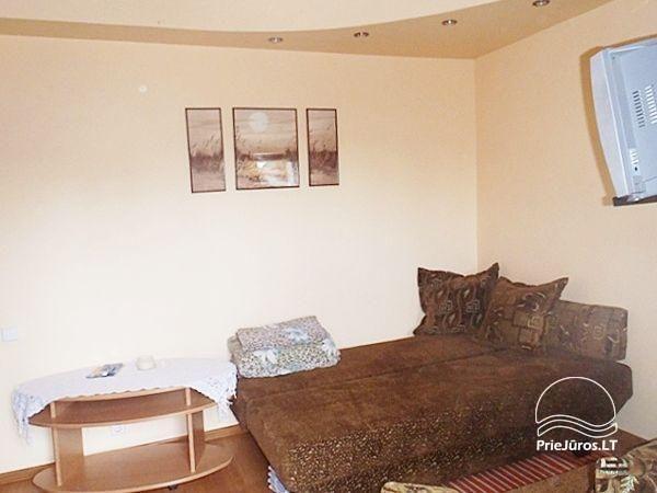 1 pokojowe mieszkanie w Nidzie. Parter, 500 metrów do morza - 2