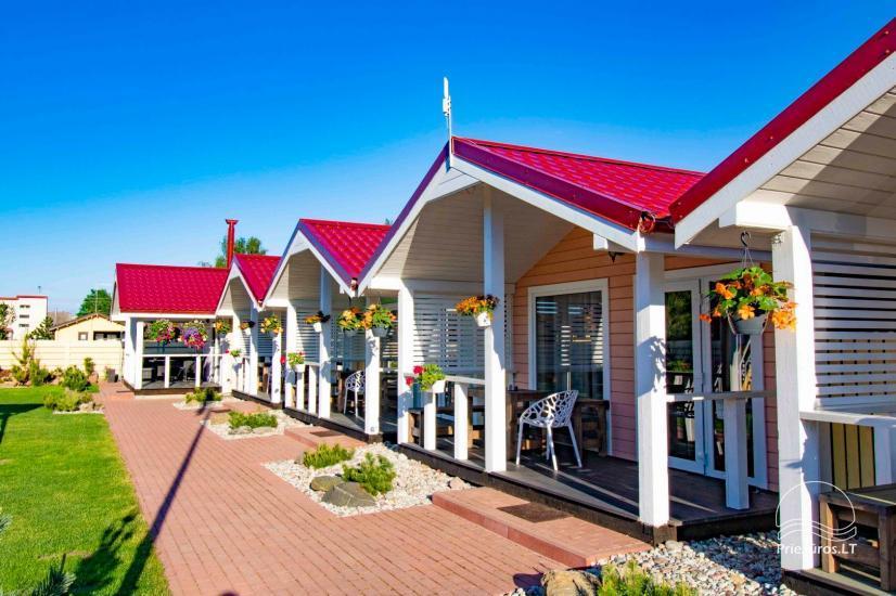 Nowe domy wakacyjne ze wszystkimi udogodnieniami do wynajęcia w Sventoji. Miejsce odpoczynku Svyturys - 2