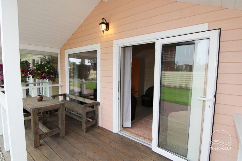 Nowe domy wakacyjne ze wszystkimi udogodnieniami do wynajęcia w Sventoji. Miejsce odpoczynku Svyturys - 9