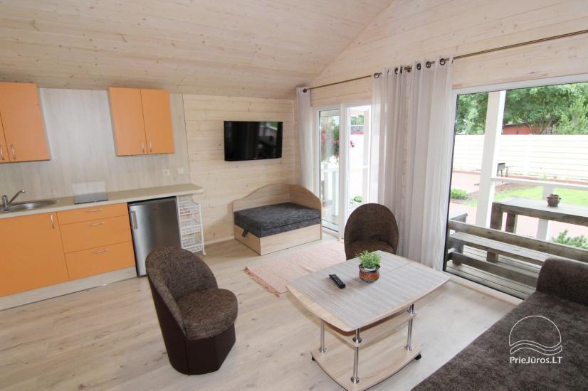 Nowe domy wakacyjne ze wszystkimi udogodnieniami do wynajęcia w Sventoji. Miejsce odpoczynku Svyturys - 10
