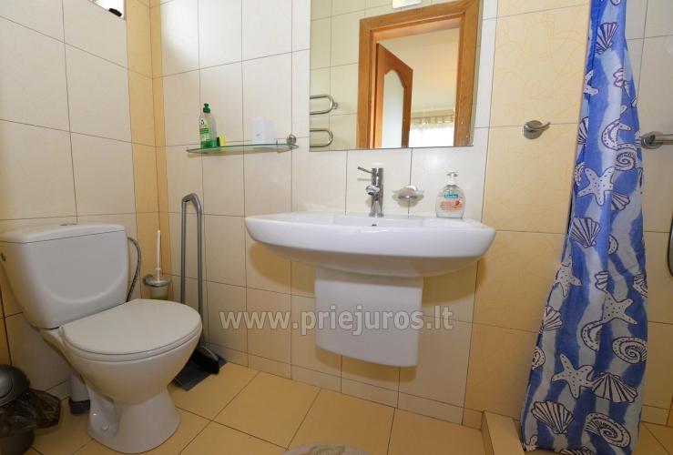 Apartamenty i pokoje do wynajęcia w prywatnym domu w Połądze - 7