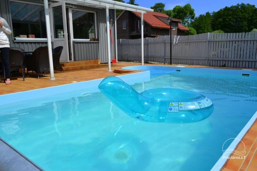 Dom z basenem do wynajęcia w Karkle VILLA ZAREMBA - 200 m do plaży nad morzem! - 7