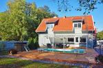 Dom z basenem do wynajęcia w Karkle VILLA ZAREMBA - 200 m do plaży nad morzem! - 2