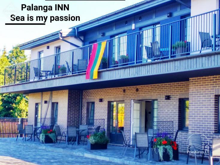 Wakacje w Połądze nad Bałtykiem – apartamenty i pokoje Palanga INN - 1
