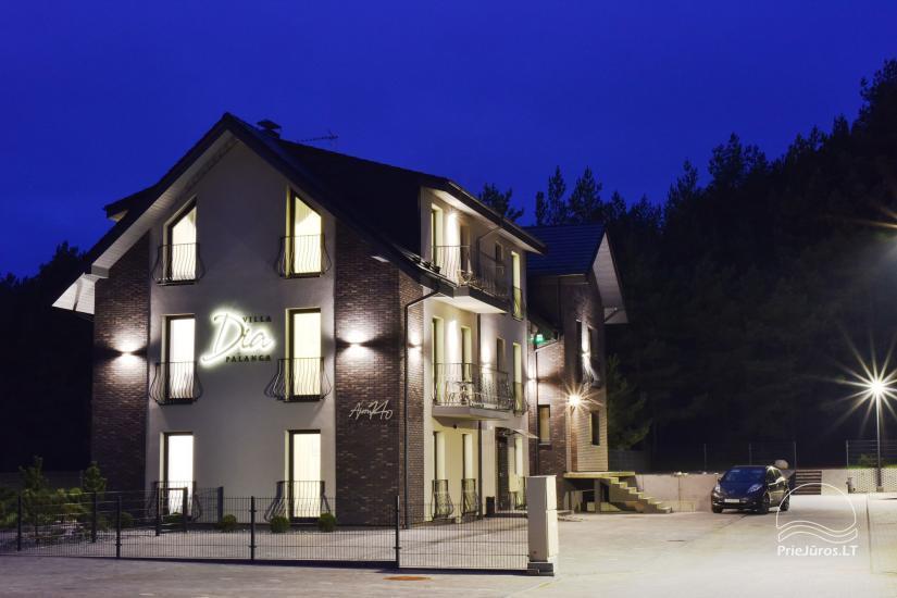 Willa DIA - Mieszkania do wynajęcia w Połądze, obok sosnowego lasua - 16