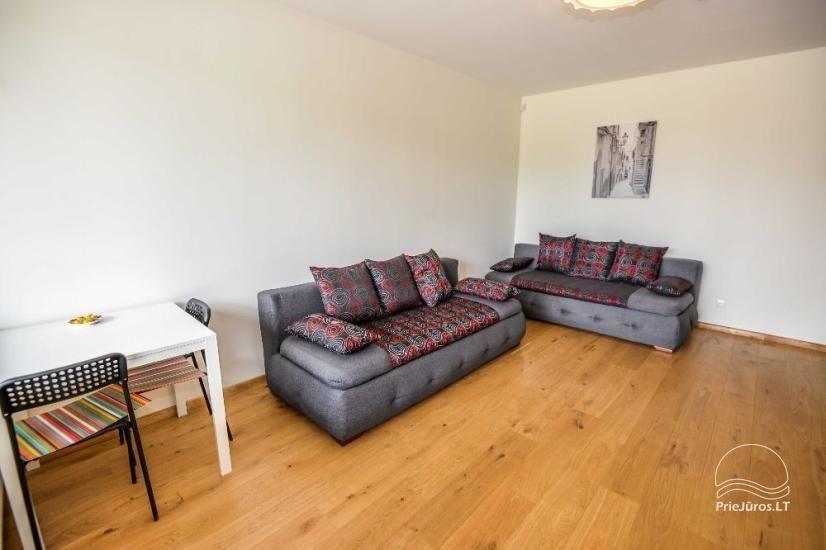 Nowe mieszkanie z tarasem do wynajęcia w Połądze - 4