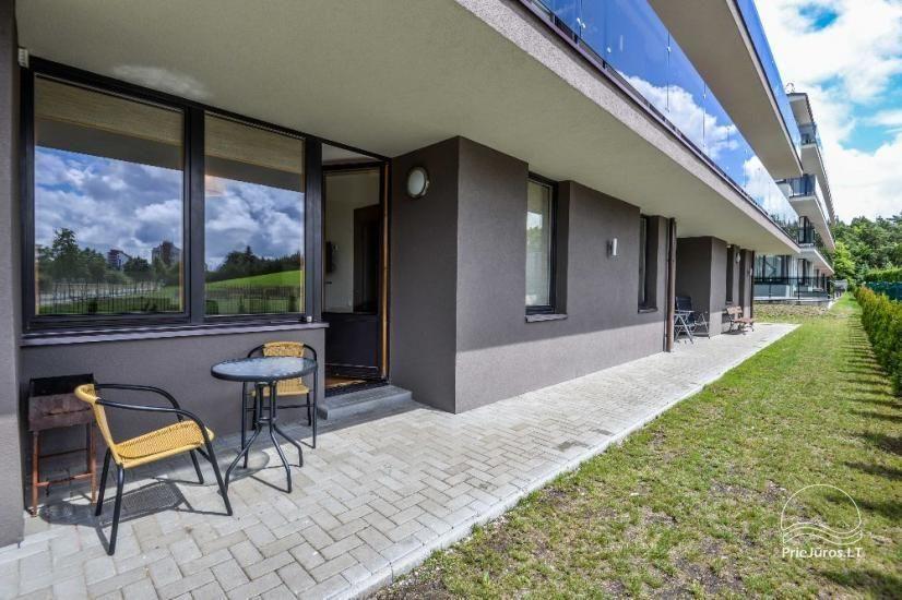 Nowe mieszkanie z tarasem do wynajęcia w Połądze - 8