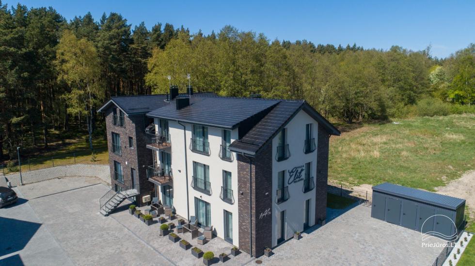 Villa Elit - Mieszkania do wynajęcia w Połądze, obok sosnowego lasu - 5
