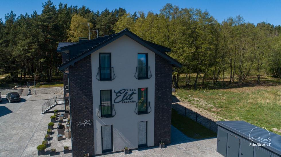 Villa Elit - Mieszkania do wynajęcia w Połądze, obok sosnowego lasu - 7