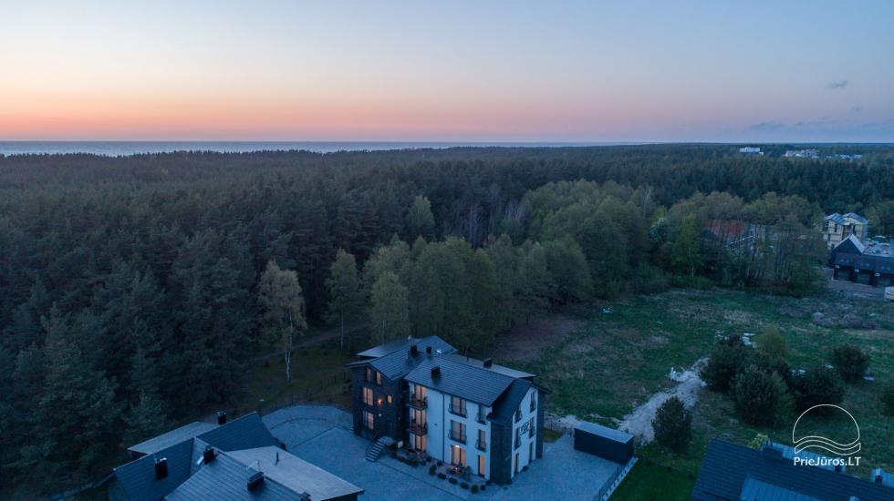 Villa Elit - Mieszkania do wynajęcia w Połądze, obok sosnowego lasu - 8