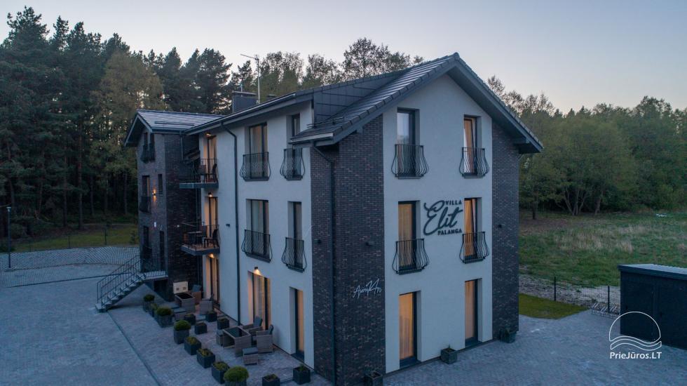 Villa Elit - Mieszkania do wynajęcia w Połądze, obok sosnowego lasu - 9