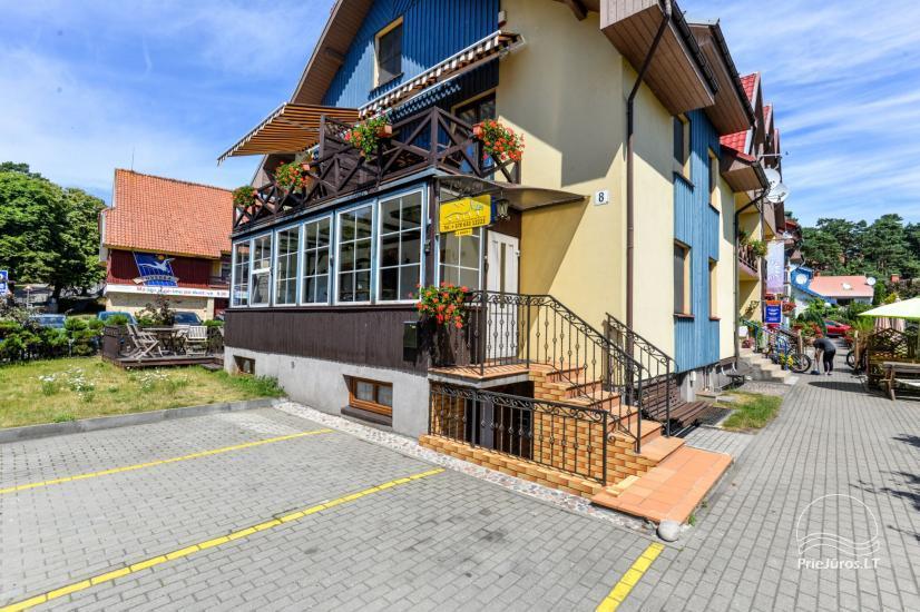 """1 i 2-pokojowe apartamenty do wynajęcia w Nidzie. Dom gościnny """"Nidos Gaiva"""" - 2"""