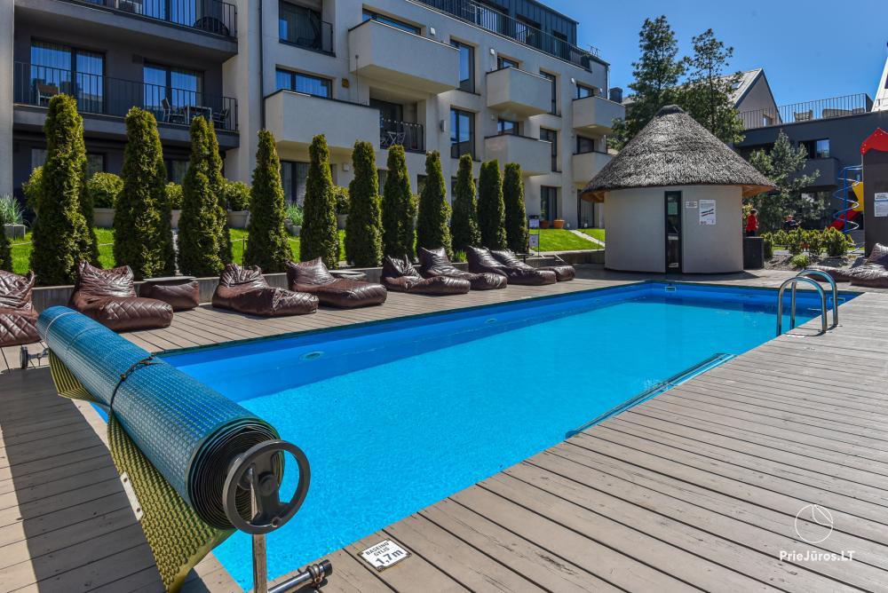 MALŪNO VILA 777 - nowe apartamenty z basenem w centrum Połągi - 1