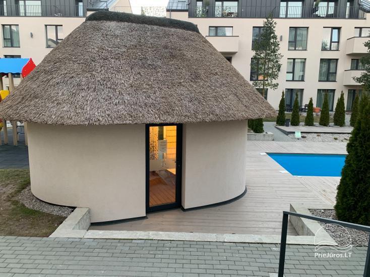 MALŪNO VILA 777 - nowe apartamenty z basenem w centrum Połągi - 3