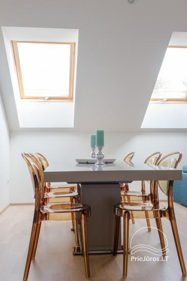 Przestronny 3-pokojowy apartament w Nidzie z balkonem / tarasem - 9