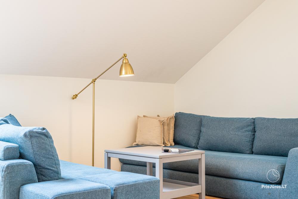 Przestronny 3-pokojowy apartament w Nidzie z balkonem / tarasem - 8