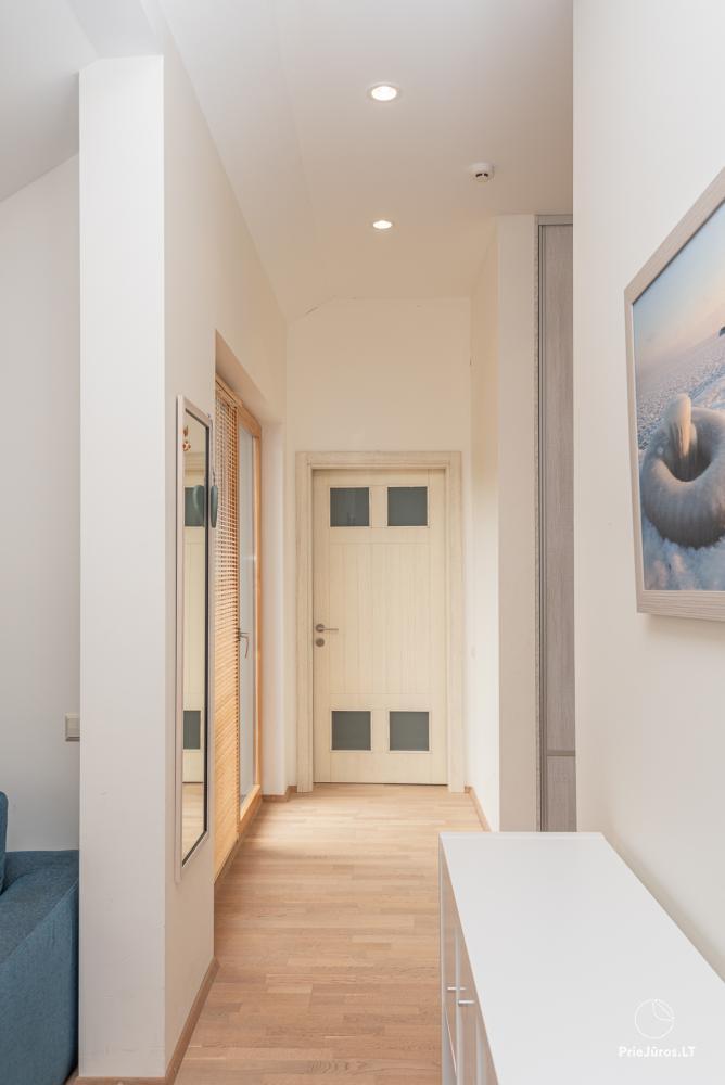 Przestronny 3-pokojowy apartament w Nidzie z balkonem / tarasem - 10