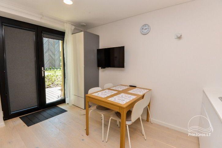 Nowe apartamenty dla 2-4 osób, do wynajęcia przez cały rok w Pervalka - 5