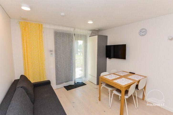 Nowe apartamenty dla 2-4 osób, do wynajęcia przez cały rok w Pervalka - 7