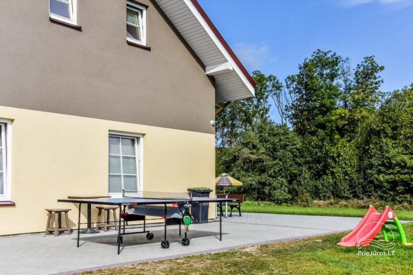 Apartamenty w Karkle Senoji Karklė – 300 m do morza - 6