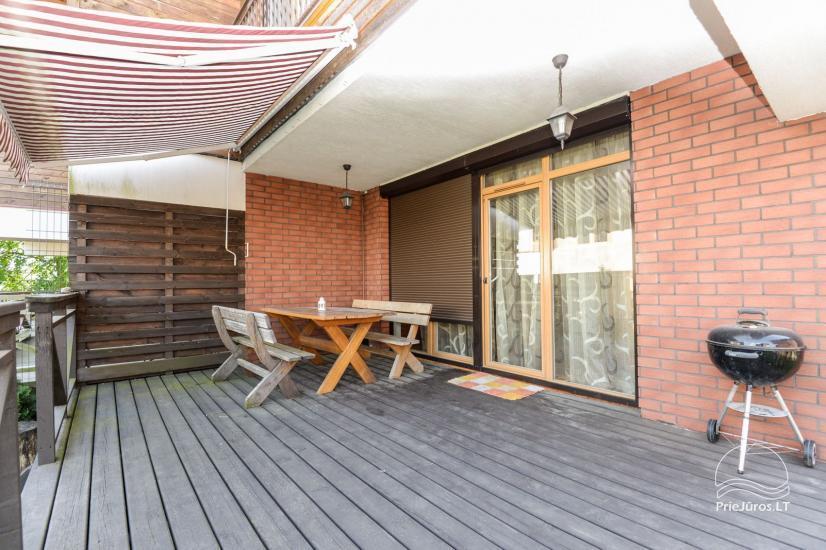 Domek do 9 osób do wynajęcia w Sventoji. Taras, patio, parking, WiFi - 1