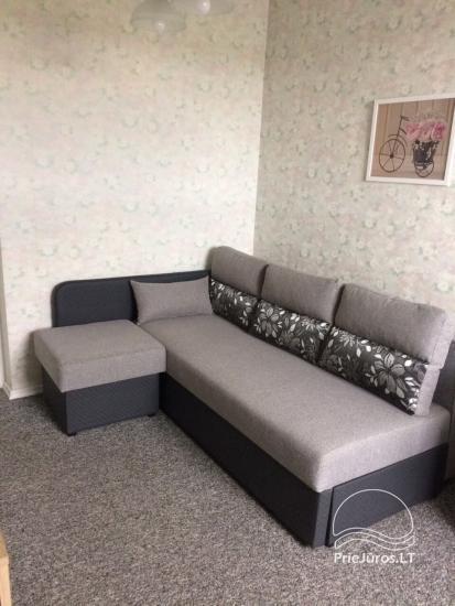 Przestronne mieszkanie z kominkiem do wynajęcia w Połądze - 6