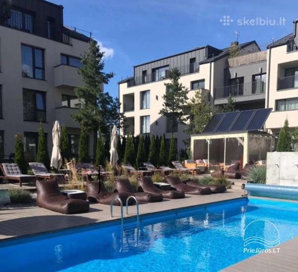 Nowe mieszkania 1 i 2-pokojowe do wynajęcia w nowym kompleksie Maluno vilos - 1