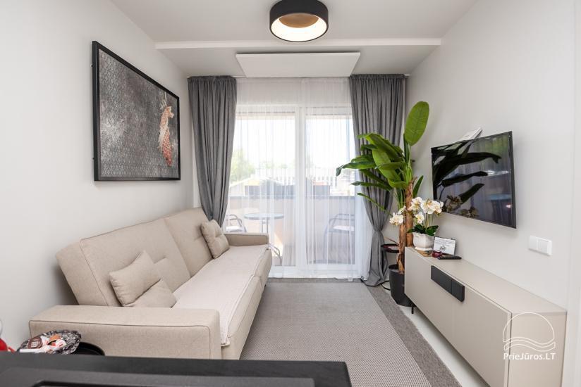 Nowe mieszkania 1 i 2-pokojowe do wynajęcia w nowym kompleksie Maluno vilos - 7