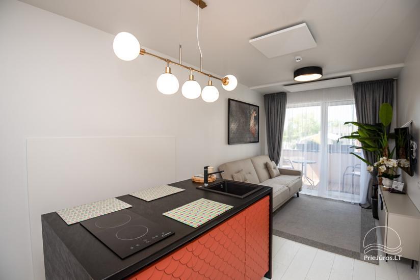 Nowe mieszkania 1 i 2-pokojowe do wynajęcia w nowym kompleksie Maluno vilos - 8