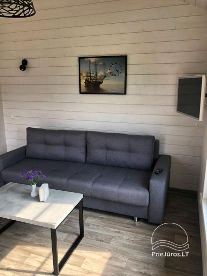 Szary dom wakacyjny | Domy wakacyjne do wynajęcia w Sventoji - 10