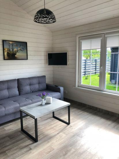 Szary dom wakacyjny | Domy wakacyjne do wynajęcia w Sventoji - 9