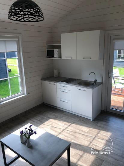 Szary dom wakacyjny | Domy wakacyjne do wynajęcia w Sventoji - 11