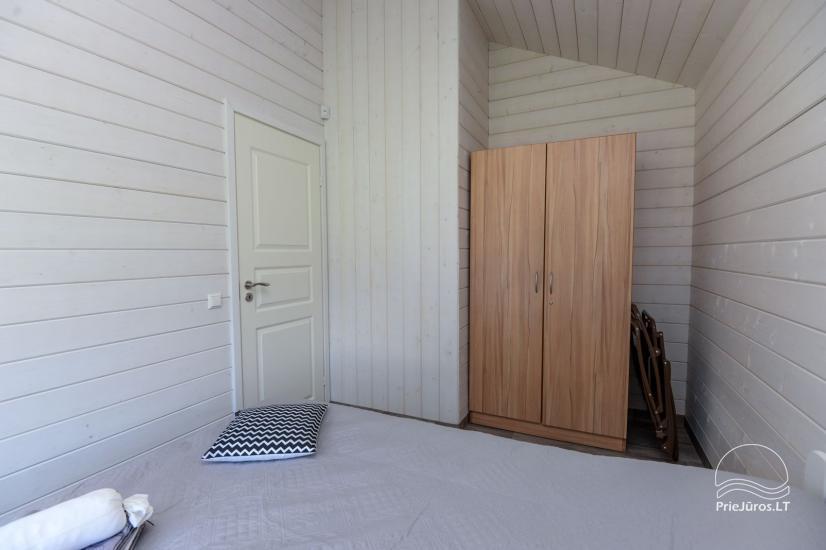 Szary dom wakacyjny | Domy wakacyjne do wynajęcia w Sventoji - 5