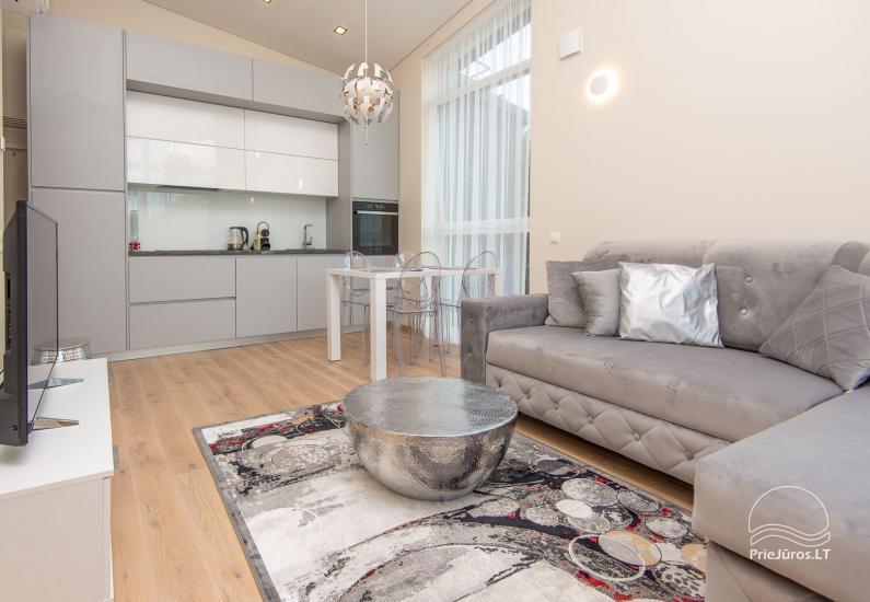 Stylowe, nowe 2-pokojowe mieszkanie do wynajęcia w Połądze - 3