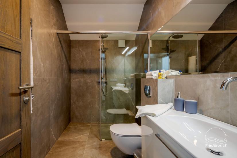 """Nowa luksusowa kamienica w Połądze """"Vanagupes Luxury Cottages"""" - 10"""