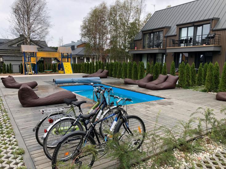 Mieszkanie do wynajęcia w nowo wybudowanym domu w Połądze, w pobliżu Morza Bałtyckiego - 1