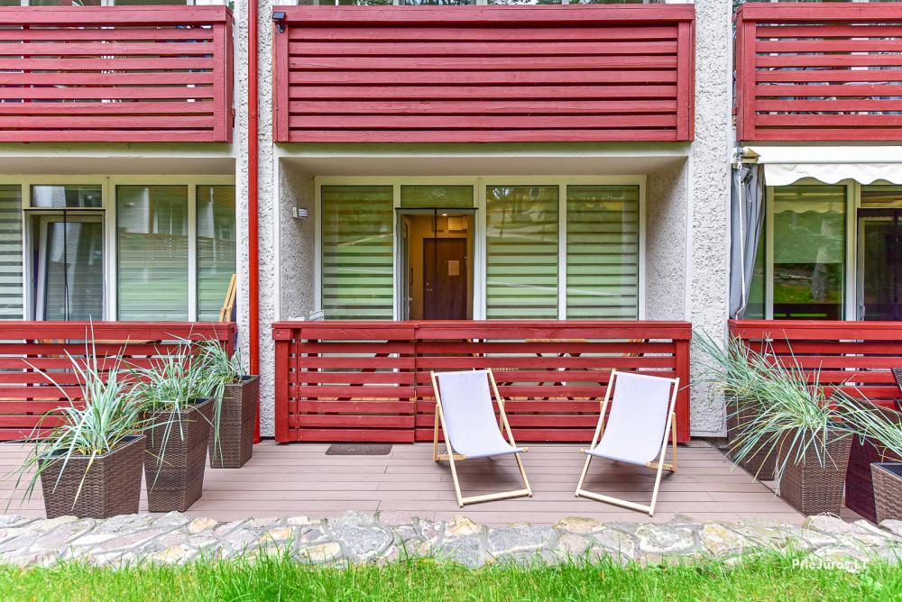 Apartament typu studio do wynajęcia w Juodkrante, w Mierzei Kurońskiej w pobliżu Morza Bałtyckiego - 22