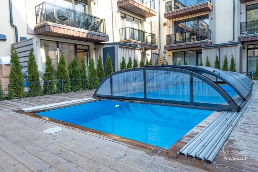 """Mieszkania """"Ciki Puiki"""" z podgrzewanym odkrytym basenem w Połądze, Kunigiskiai - 2"""