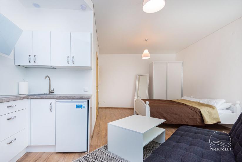 Przytulne apartamenty i mieszkania do wynajęcia w centrum Połągi, blisko morza! - 9