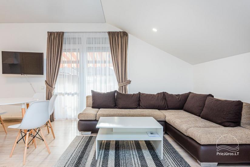 Przytulne apartamenty i mieszkania do wynajęcia w centrum Połągi, blisko morza! - 11