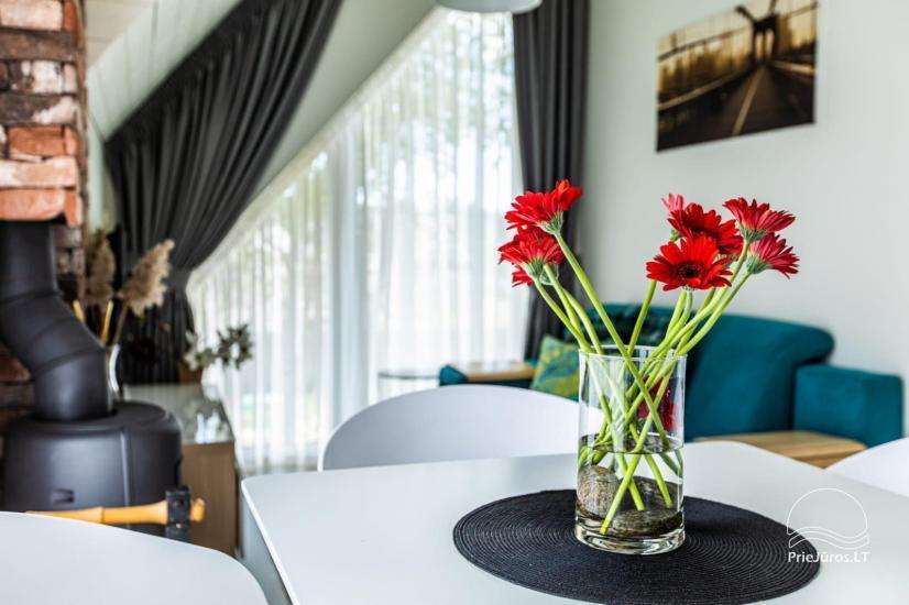 Przytulne mieszkanie do wynajęcia w Połądze, w Kunigiskiai. Do morza zaledwie 300 metrów! - 14