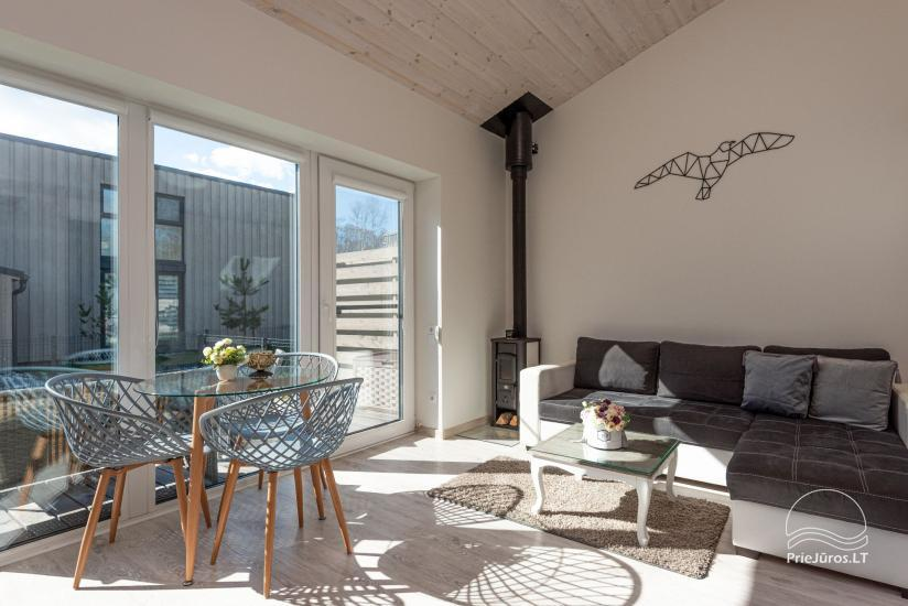 Dom wakacyjny - apartament z tarasem do wynajęcia w Połądze, w Kunigiskiai - 1