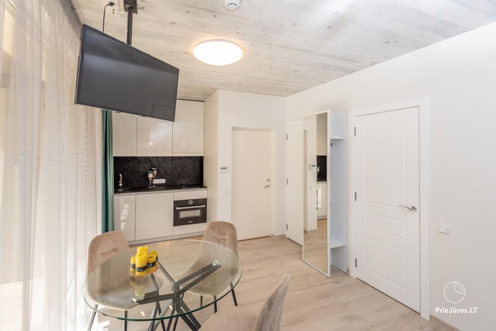 Nowe mieszkanie z tarasem i podgrzewanym basenem blisko morza - 11